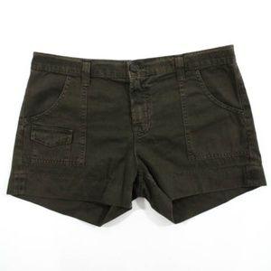 "J Brand ""Cadet"" Brown Pocket Shorts Sz. 28"